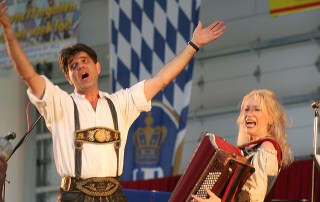 Rochester Oktoberfest and the worlds longest brat.