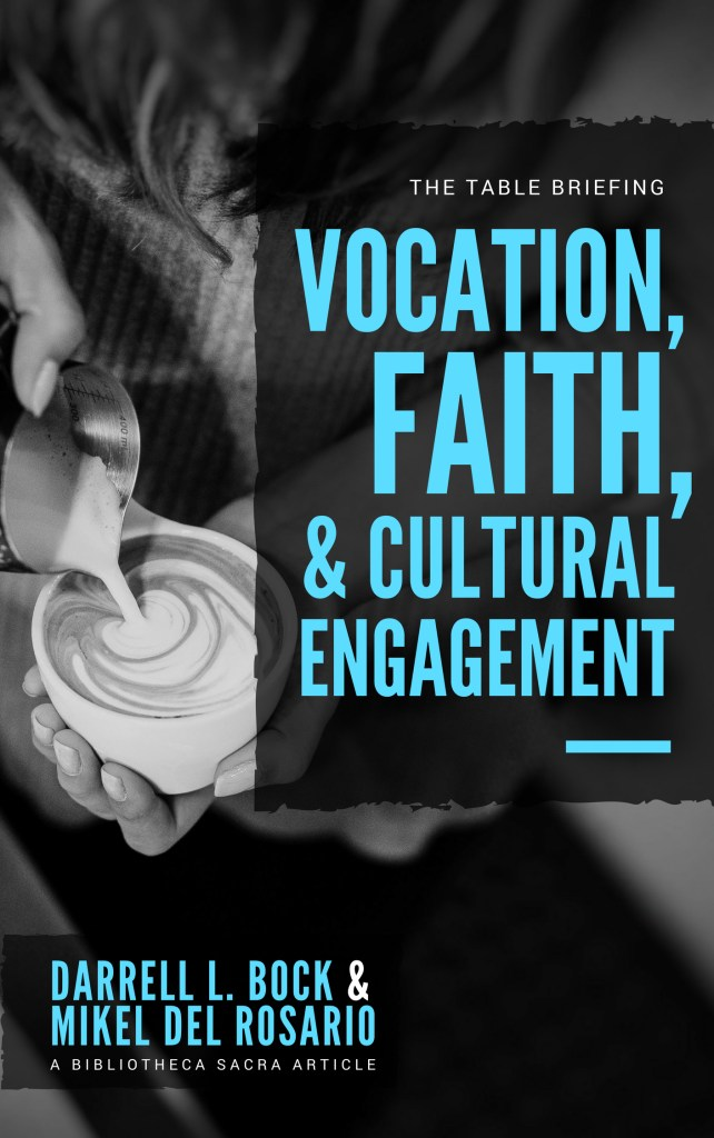 Vocation, Faith, and Cultural Engagement | Mikel Del Rosario