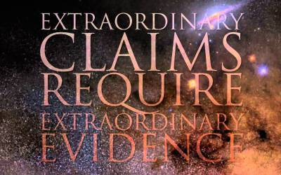 Do Extraordinary Claims Really Require Extraordinary Evidence?