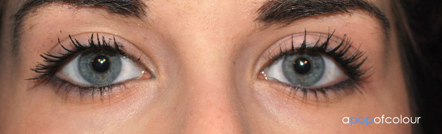 89ae0533fba One Coat of YSL Faux Cils. DiorShow primer is on the left eye (my right)