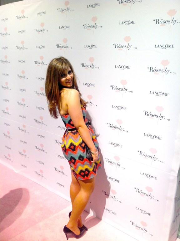 Dress - Rachel by Rachel Roy; clutch - Chanel Timeless WOC; shoes- Christian Louboutin Decollete; bangles - Forever 21