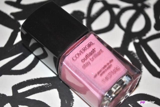 Pink polish covergirl