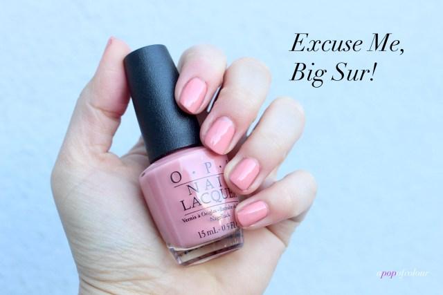 OPI Excuse Me, Big Sur!