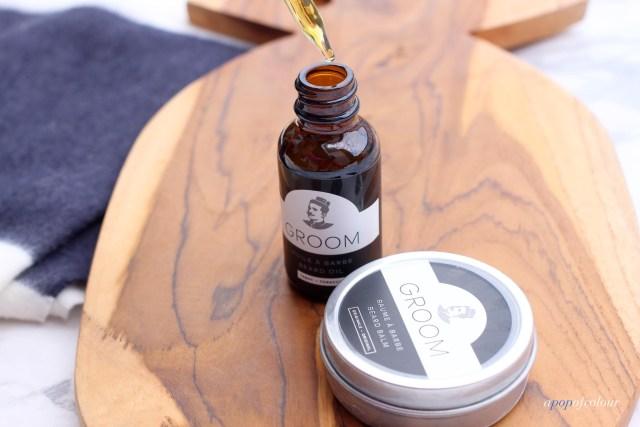 Les Industries Groom Beard Oil and Beard Balm