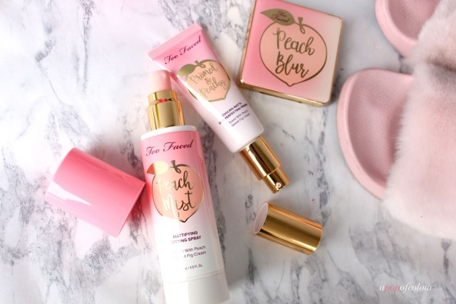 Too Faced Cosmetics Peaches and Cream collection