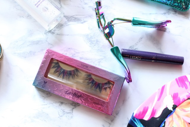 Tarte limited-edition picture perfect™ eyelash curler & deluxe lights, camera, lashes™ mascara and Mermaid lashes