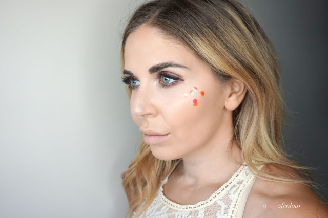 Makeup look using the Tarte Love, Trust, and Fairy Dust collection