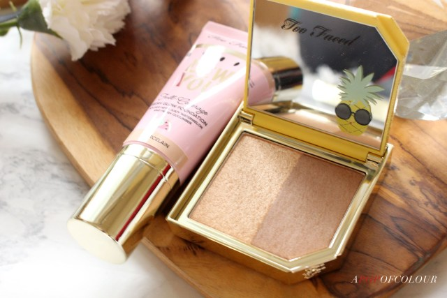 Too Faced Pineapple Paradise Bronzing Highlighter Duo