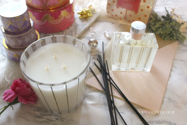 Nest Sugar Cookie Three-Wick candle and reef diffuser