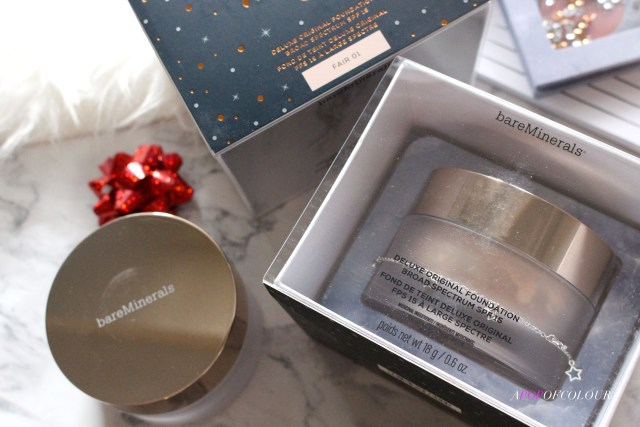 Bare Minerals Original Foundation limited edition holiday set