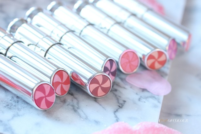 Dior Beauty Lip Glow To The Max Colour Reviver Balm close up