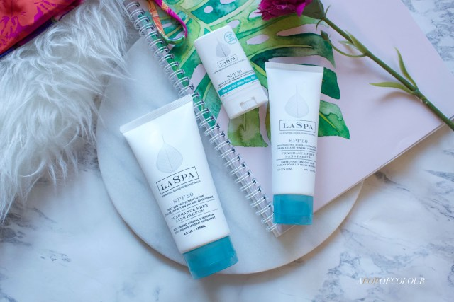 LASPA sunscreen products