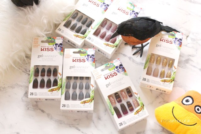 Kiss Gel Couture Halloween nails