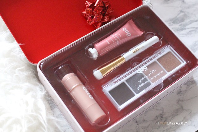 Quo Holiday Ready Makeup Set
