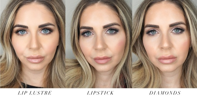 Charlotte Tilbury Pillow Talk lipstick swatches