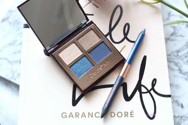 Charlotte Tilbury Super Blue Luxury Palette and liner