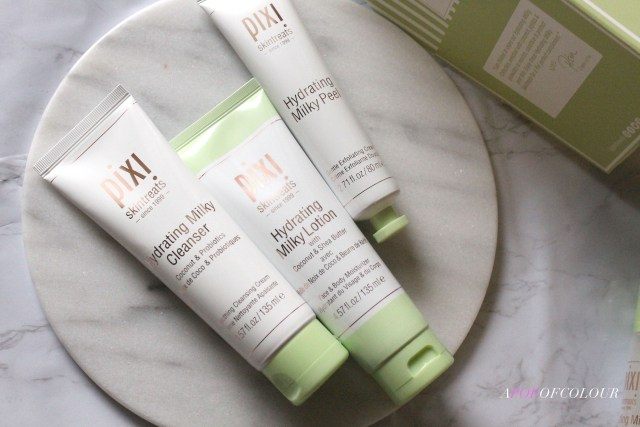 Pixi Beauty Hydrating Milky Cleanser and Peel