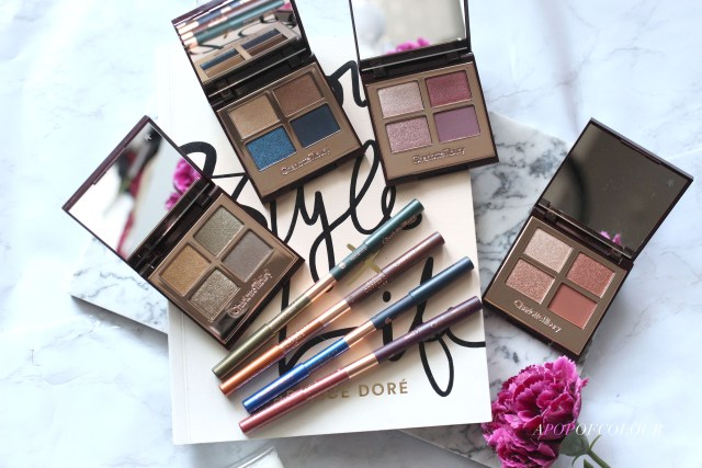 Charlotte Tilbury Luxury Palettes and liners