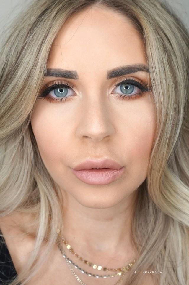 Charlotte Tilbury Pillow Talk lipstick swatched