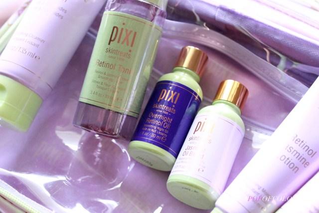 Pixi Beauty Jasmine Retinol products