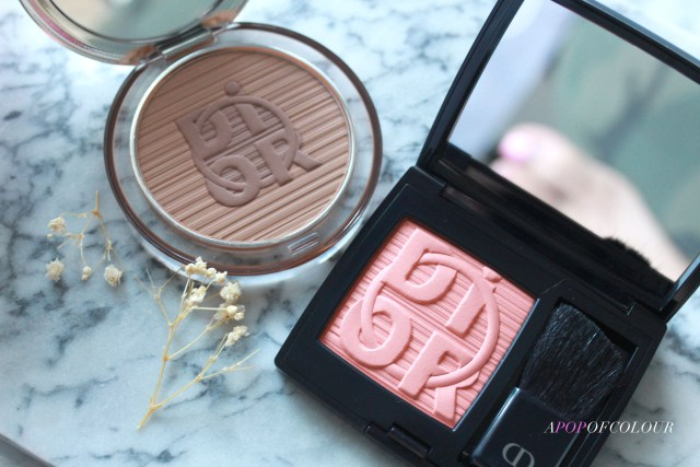 Dior ROUGE BLUSH - COLOR GAMES COLLECTION LIMITED EDITION in Pink Pong