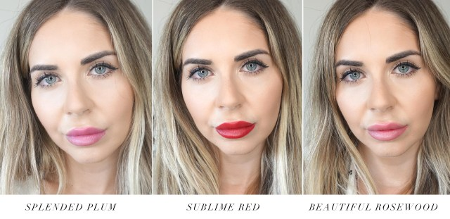 ge Perfect Flattering Lipstick swatches