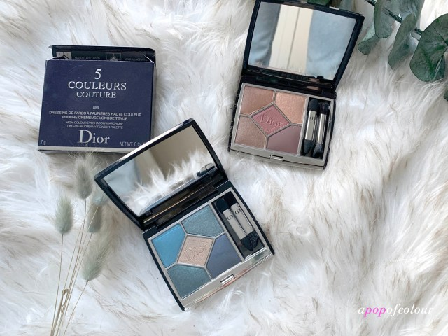 Dior 5 Couleurs palettes in Denim and Mitzvah