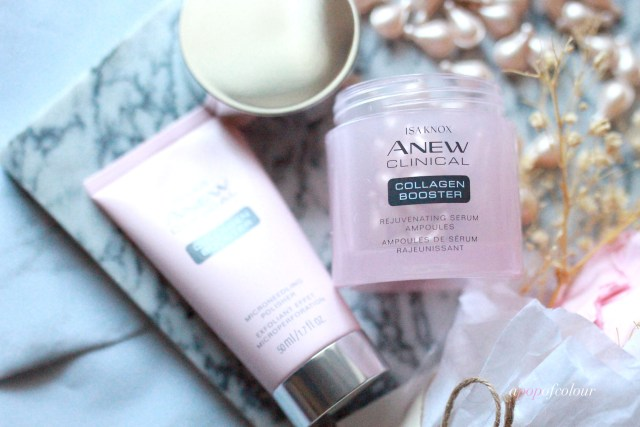Avon Anew Collagen Booster products
