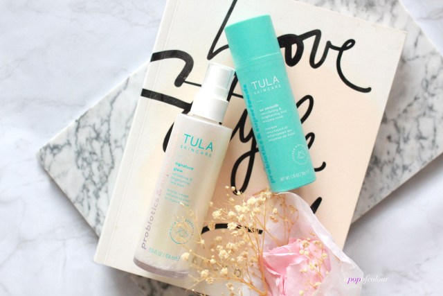 Tula Signature Glow Refreshing & Hydrating Acid Face Mist and So Smooth Resurfacing & Brightening Fruit Enzyme Mask