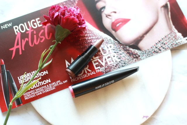 Make Up For Ever Rouge Artist lipsticks