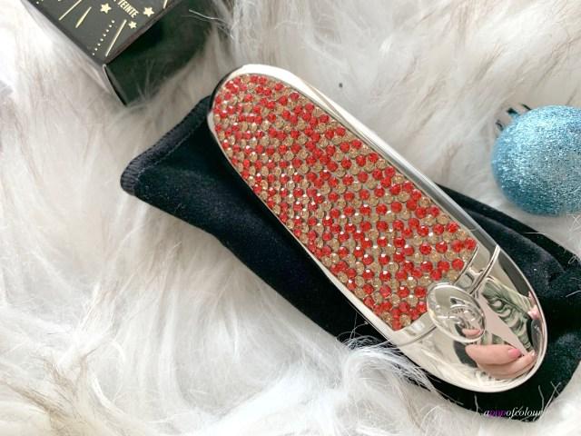 Guerlain Rouge G Golden Ruby lipstick case