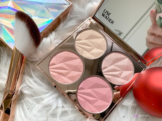 Lise Watier Diamond Dreams Blush & Glow Blush and Highlighter Palette
