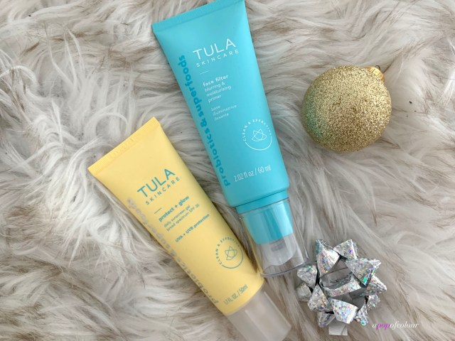 Tula Protect + Glow sunscreen and Face Filter printer