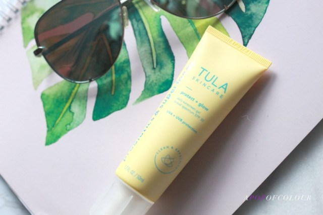 Tula Protect + Glow – Daily Broad Spectrum SPF 30 Sunscreen