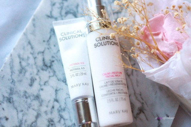 Mary Kay Clinical Solutions 0.5 Retinol and Facial Milk