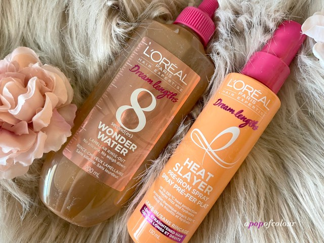 L'Oreal Paris Dream Lengths 8 Second Wonder Water and Heat Slayer