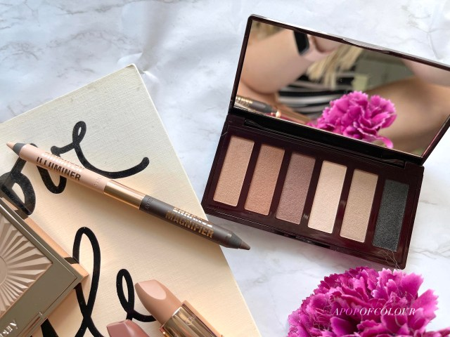 Charlotte Tilbury Super Nudes Eye Liner Duo and Super Nudes shadow palette