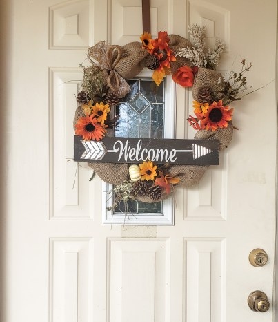 fall front door wreaths, fall front door wreaths decor entrance, fall wreath ideas, fall wreath ideas DIY, fall wreath for front door, fall wreaths burlap, budget wreath, budget fall decor ideas, budget fall porch decor, walmart DIY decor, Walmart DIY crafts, walmart DIY fall decor, walmart DIY projects, mommy crafts, mommy dIY projects, mommy home decor