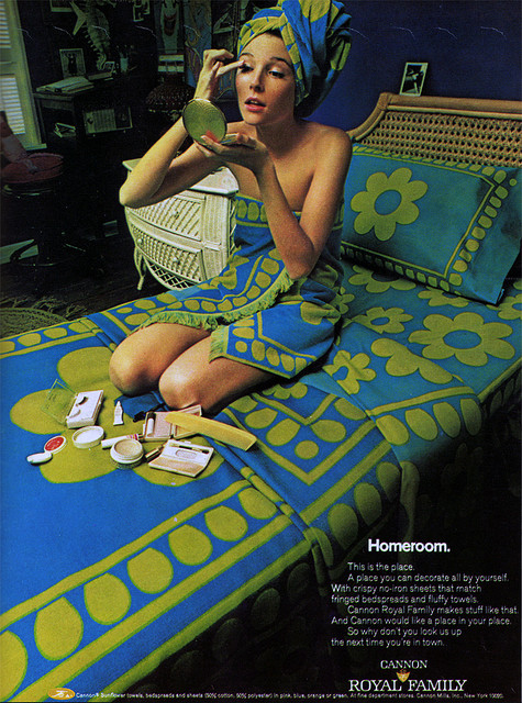home decor in the 1960s