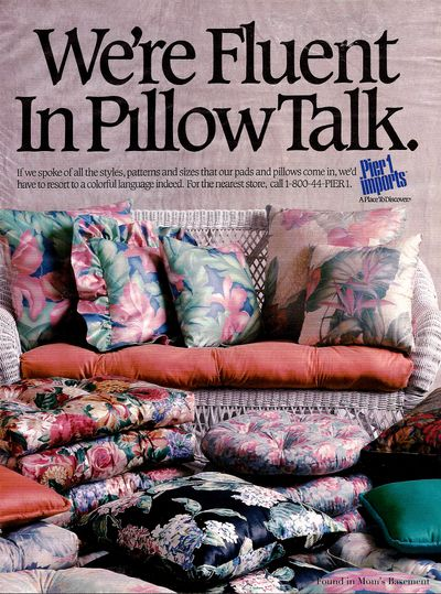 Vintage Home Decor Ads Series Day 21 Late 80s Pier One Ads A