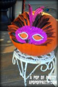 Halloween decorating ideas - no carve pumpkin