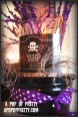 Halloween Mantel Decorating - witch brew