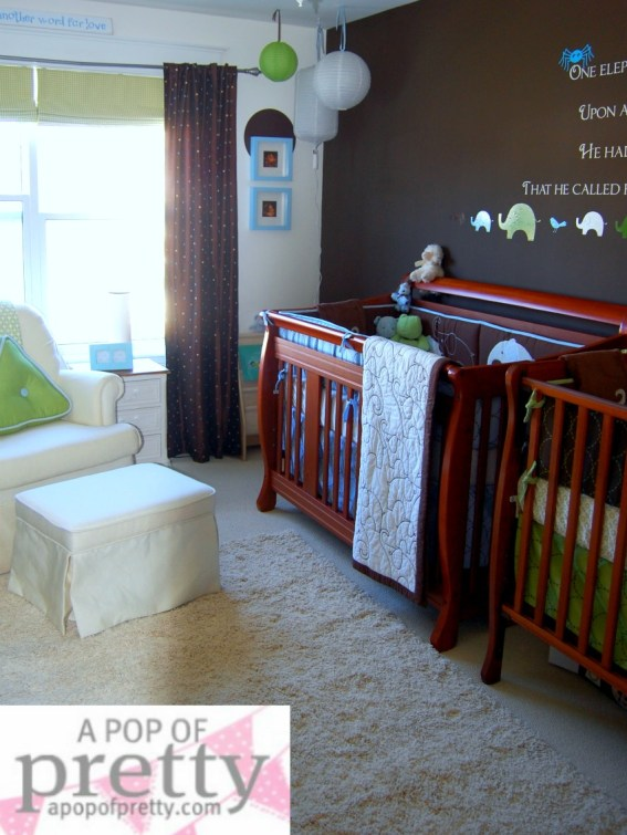 Our Twin Boy Nursery Room Tour Must You Change So Soon