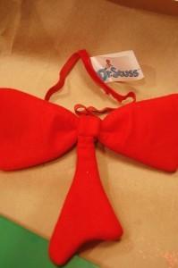 Dr. Seuss Christmas Tree Bow-Tie