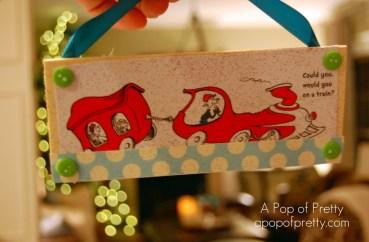 DIY Dr. Seuss Christmas Tree Decorations