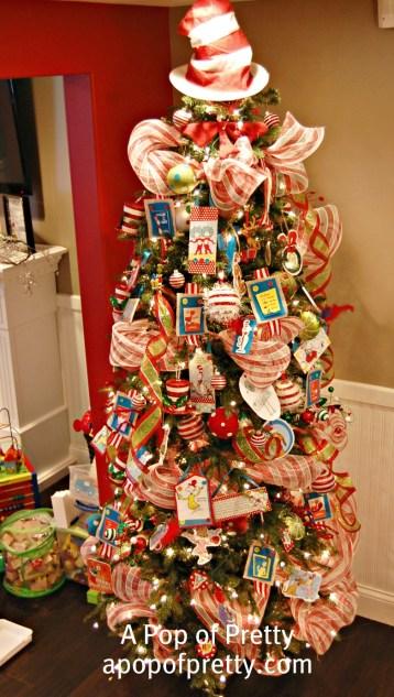 Dr. Seuss Christmas Tree Decor