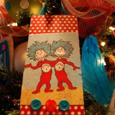 My Dr. Seuss Christmas Tree!