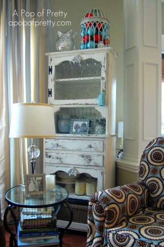 Red Amp Turquoise Christmas Decor My 2011 House Tour A