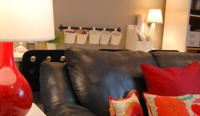 Colorful Basement Family Room: House Peeping #2 (Room Tour)