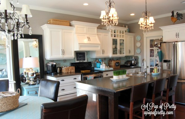 Benjamin Moore Silver Fox Kitchen